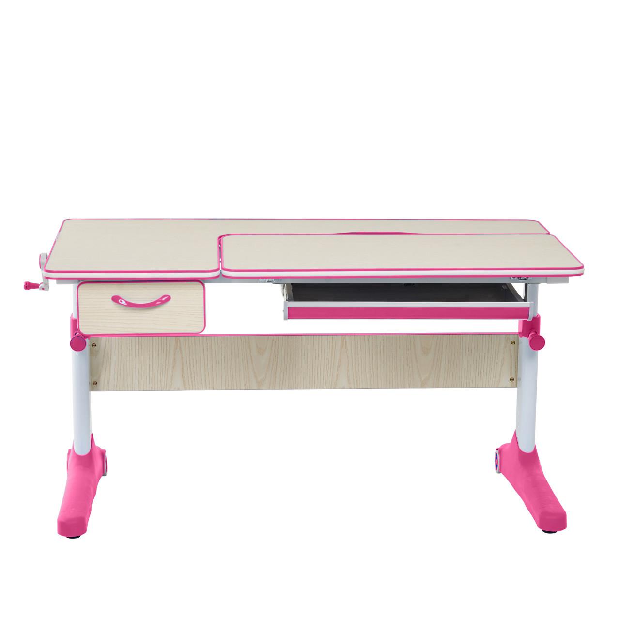 Растущая парта для школьников Cubby Imparare Pink