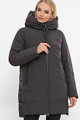 Теплая женская куртка на зиму большие размеры