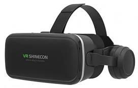 3D очки виртуальной реальности Shinecon VR SC-G04E, черные