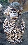 Фигура для сада Собака  в пальто, фото 5