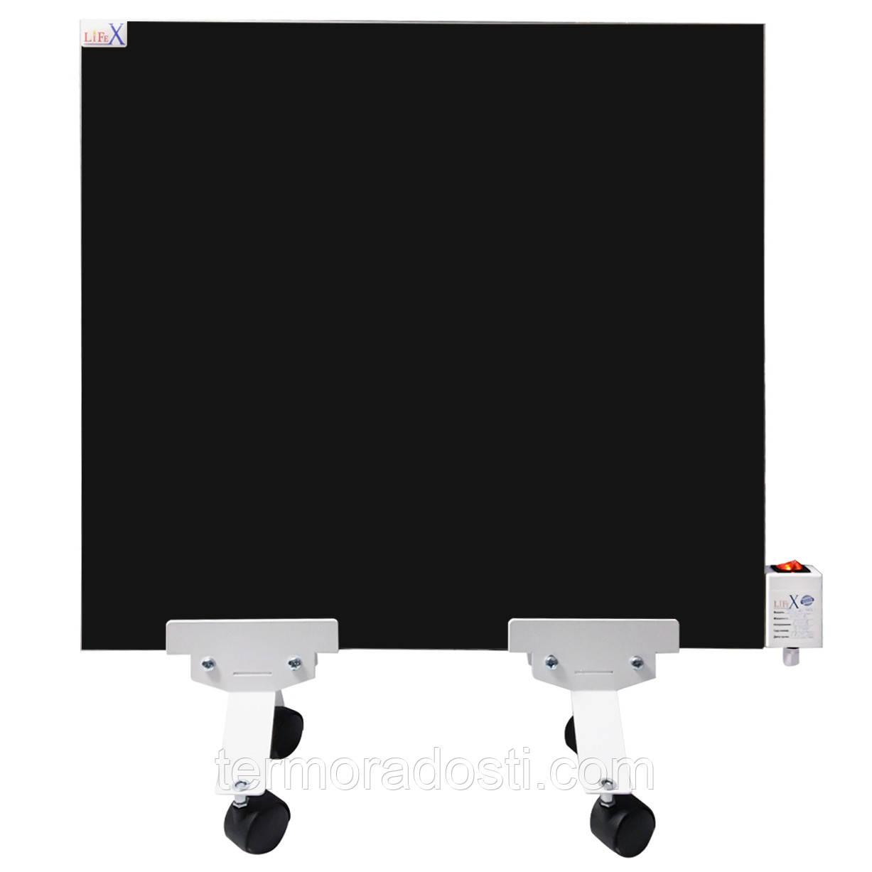 Напольная керамическая панель LIFEX Slim 400 (черная)