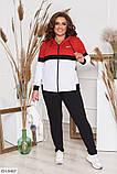 Трикотажный женский спортивный костюм Размер: 50,52,54,56, фото 4