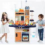 Большая детская кухня 889-161 с водой и паром, (свет, звук) 65 предметов, фото 4