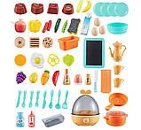 Большая детская кухня 889-161 с водой и паром, (свет, звук) 65 предметов, фото 6