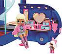 Лол Гламурний модний кемпер LOL OMG 4-в-1 55+ сюрпризами L. O. L. Surprise! O. M. G. Camper, фото 6