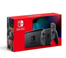 Nintendo Switch with Gray Joy-Con (Обновлённая версия)