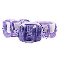 Набор из 3 сумок в роддом EcoNova S+M+XL Лаванда
