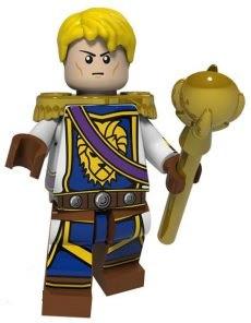 Фигурка Андуин Ринн World of Warcraft Аналог лего