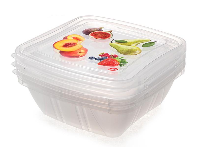 Контейнеры для хранения продуктов, 0,5 л, 3 шт.