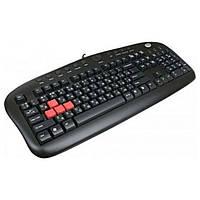 Клавиатура A4tech KB-28G USB Black KB-28G-USB, КОД: 1891705