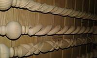 Винтовые, резные, витые балясины для лестницы, фото 1