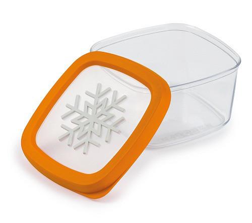"""Контейнер """"Снежинка"""" ТМ Snips для хранения и заморозки продуктов, 1 л"""
