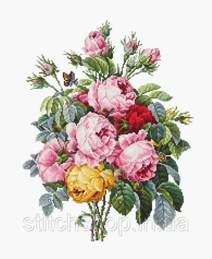 Набор для вышивания нитками LUCA-S Розы (B2372)
