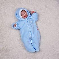 Зимний комплект на выписку для новорожденного мальчика набор Мария, фото 3