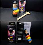 Волшебная игрушка - небьющийся маленький деревянный человек, фото 2
