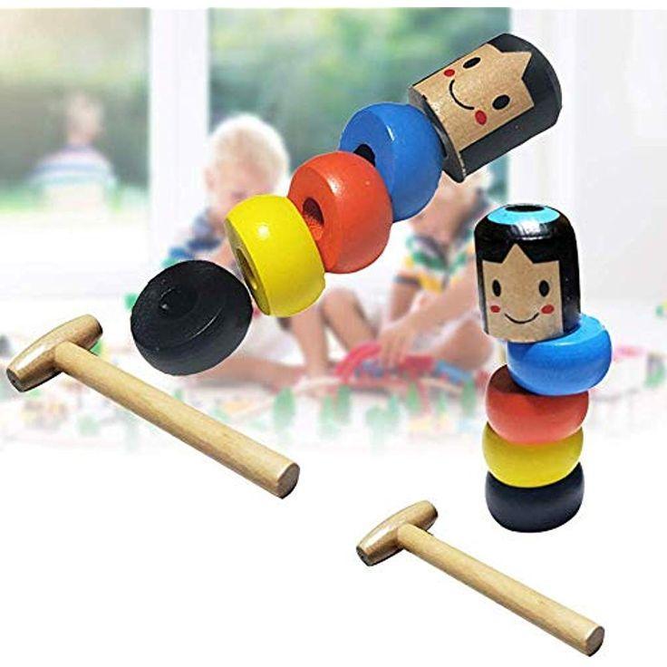 Волшебная игрушка - небьющийся маленький деревянный человек