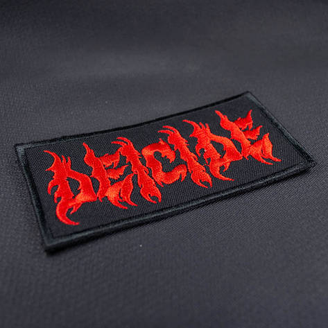 Нашивка с вышивкой DEICIDE, фото 2