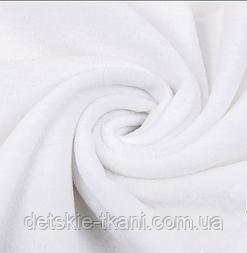Однотонний фліс білого кольору