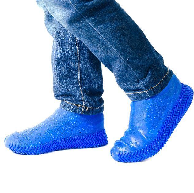 Чехлы-бахилы Синие (L) для любой обуви
