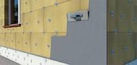 Утепление фасадов зданий под штукатурку базальтовой ватой
