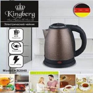 Чайник электрический Kingberg 2 л, бронзовый