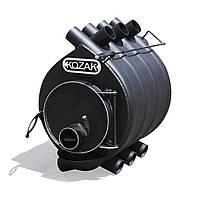 Печь-булерьян  01 до 200 м³ KOZAK стальной 4 мм топка на дровах до 54 см с зольником и ручкой регулятором.