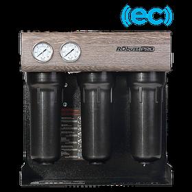 Фільтр зворотного осмосу Ecosoft RObust PRO ECONNECT для очищення води в квартирах ресторанах кафе
