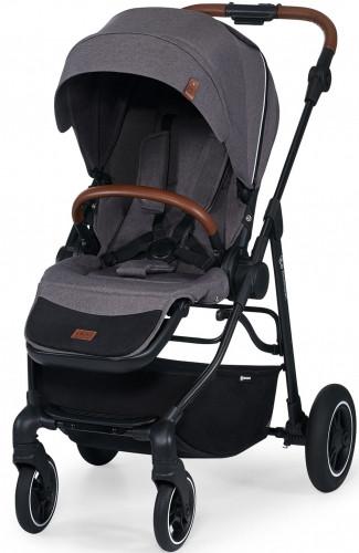Детская прогулочная коляска с реверсивным блоком Kinderkraft all road ash grey