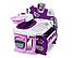 Большой игровой центр Smoby Toys Baby Nurse Прованс комната малыша с кухней, ванной, спальней и аксессуарами, фото 5