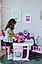 Большой игровой центр Smoby Toys Baby Nurse Прованс комната малыша с кухней, ванной, спальней и аксессуарами, фото 4