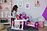 Большой игровой центр Smoby Toys Baby Nurse Прованс комната малыша с кухней, ванной, спальней и аксессуарами, фото 3