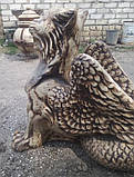 Скульптура для сада Грифон, фото 3