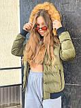Жіноча зимова куртка, фото 3