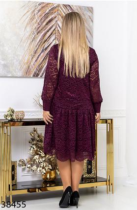 Гипюровое платье батал  Размеры: 50.52.54.56., фото 2