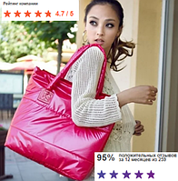 Стильная Стеганная глянцевая дутая сумка через плечо 2020 модная мягкая тканевая популярная недорого большая
