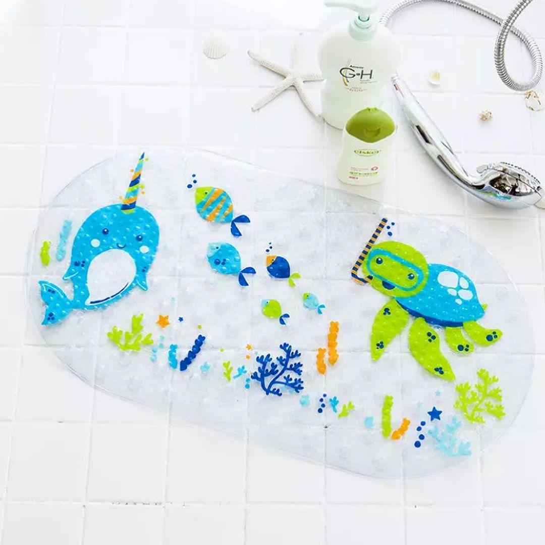 Антиковзаючий килимок у ванну (515) (Черепаха)