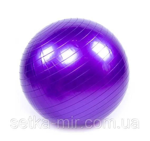 Мяч фитнес 55 см, глянец, King Lion +насос, цвета в ассортименте