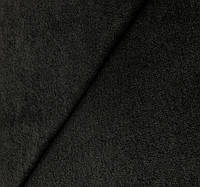 Ткань трикотаж цвет чёрный (ш. 150 см) для пошива одежды ,кардиганов ,жакетов, платьев.
