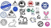 Значки и символы на упаковке косметической продукции