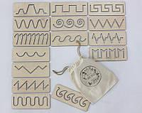 Трафареты первого письма в мешочке SMARTKIDS | Игры на логику | Логические игры | Развивающие игрушки, фото 1