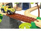 """Дерев'яна залізниця   """"Джунглі"""" PlayTive Junior 3,7м 47 ел, фото 4"""