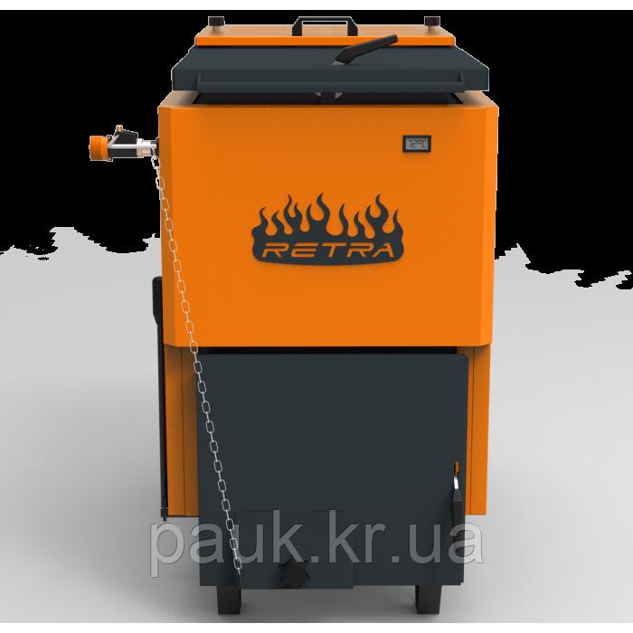 Твердотопливный котел 40 кВт, РЕТРА-6М Comfort O, котел шахтный