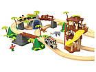 """Дерев'яна залізниця   """"Джунглі"""" PlayTive Junior 3,7м 47 ел, фото 2"""