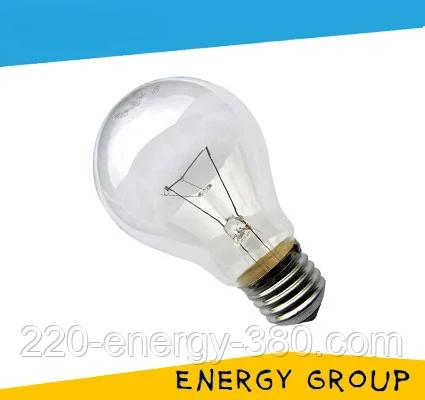 Лампа накаливания МО-60, 24В, 60Вт, E27