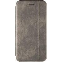 Чехол книжка Gelius Leather Book для Huawei Y6s / Y6 Prime 2019 / Honor 8a Grey