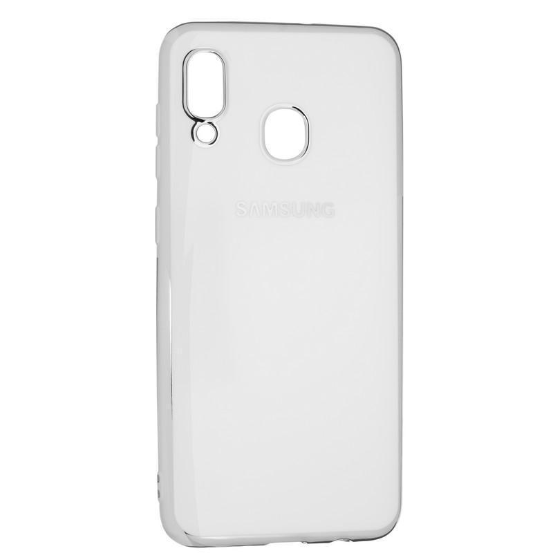 Чехол накладка защитная Anyland Deep Farfor для Samsung Galaxy A10s A107 White