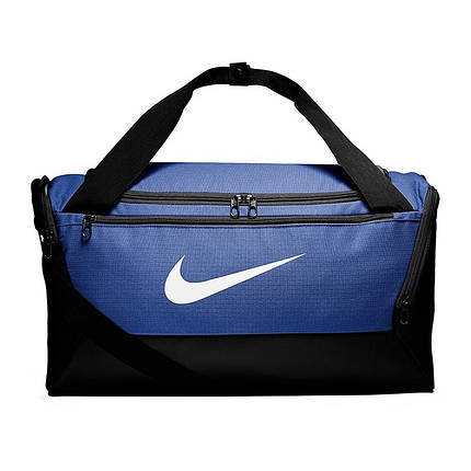 Сумка тренировочная спортивная Nike Brasilia Small 41L BA5957-480 Синий (0193145974289), фото 2
