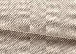 Ткань для штор Рогожка бежевая солнцезащитная, затемняющая, Турция, фото 3