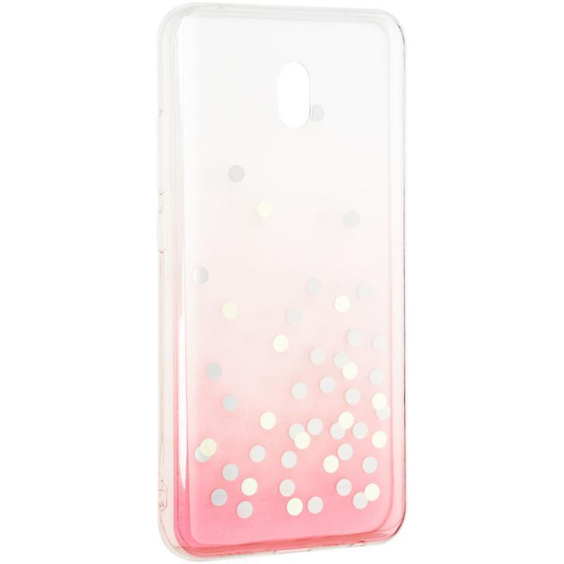 Чехол силиконовый Crystal Shine для Xiaomi Redmi 8a Pink