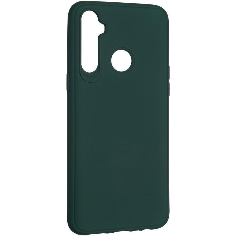 Чехол Original Full Soft для Samsung Galaxy M30s M307 / M21 M215 Dark Green